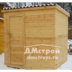 Хозблок деревянный 2х2 м - цена: от 18000 руб.