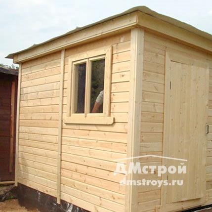 Хозблок деревянный 2х3 м с окном - цена: от 31000 руб.