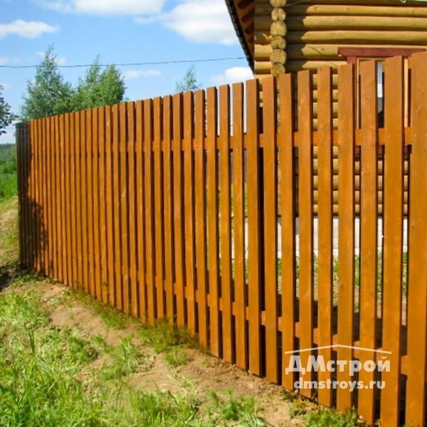 Забор из заборной доски