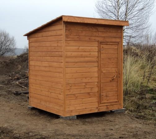 Хозблок деревянный 2х2 м